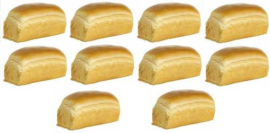 1 Federal Reserve Note would buy 10 loafs of bread
