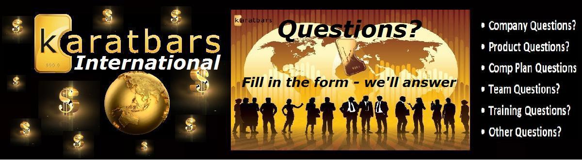 Questions about Karatbars International