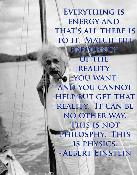 Albert Einstein on Energy, Physics and The Law of Attraction