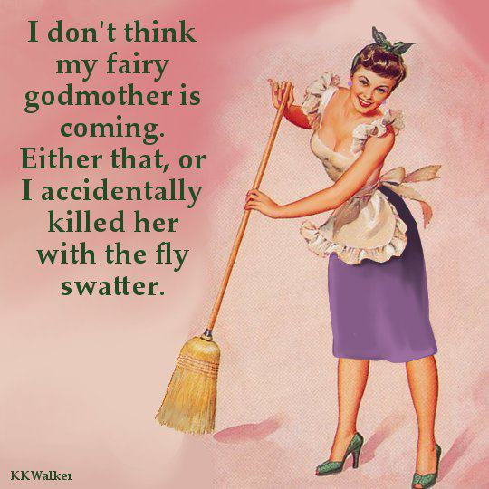 No fairy godmothers allowed