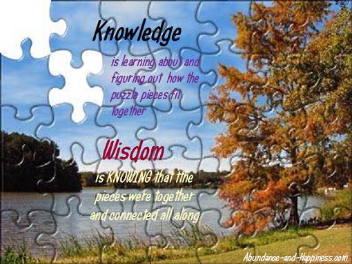 Chuck Danes - Wisdom vs Knowledge