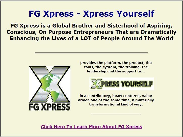 FG Xpress - Xpress Yourself