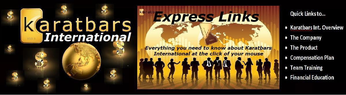 Karatbars International Express Links