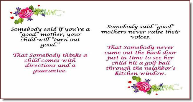 tribute to mother Messages for mother's day » a tribute to motherhood a tribute to motherhood a tribute to motherhood god made the streams that gurgle down the.