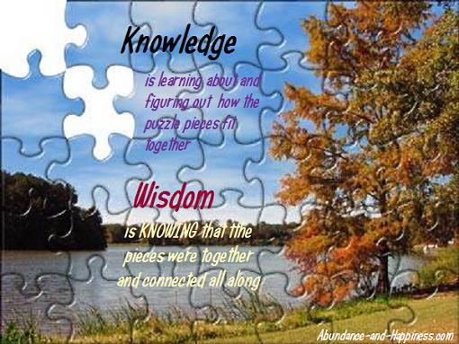 Chuck Danes - Wisdom vs Knowledge