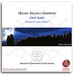 Higher Balance Meditation Music CD - Deep Sleep
