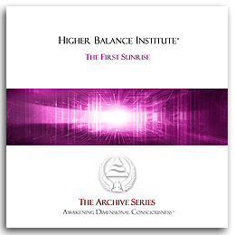 Higher Balance Institute - First Sunrise