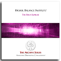 Higher Balance Institute - The First Sunrise