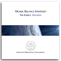 Higher Balance Institute - The Source Realized