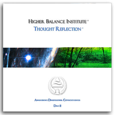 Thought Reflection from Eric Pepin and The Higher Balance Institute