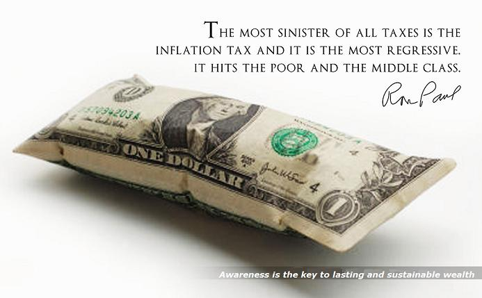 The Devaluing of Currency is Due to Inflation Tax