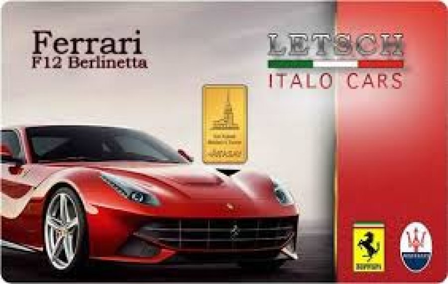 Karatbars Ferrari Collector Cards