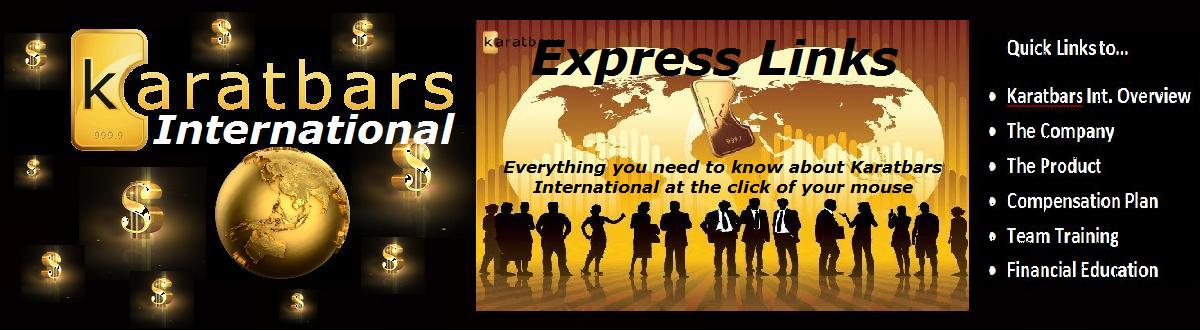 Karatbars International Express Links