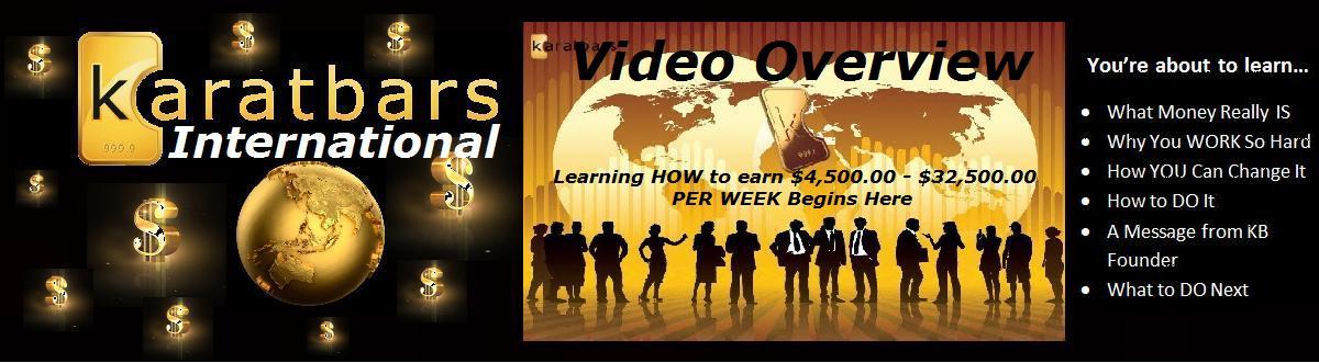 Karatbars International Video Overview