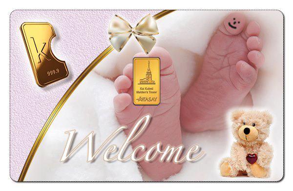 Karatbars New Baby Cards