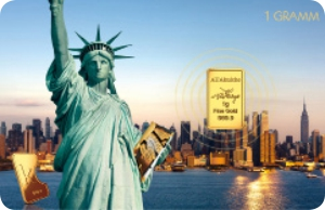Karatbars Statue of Liberty Card