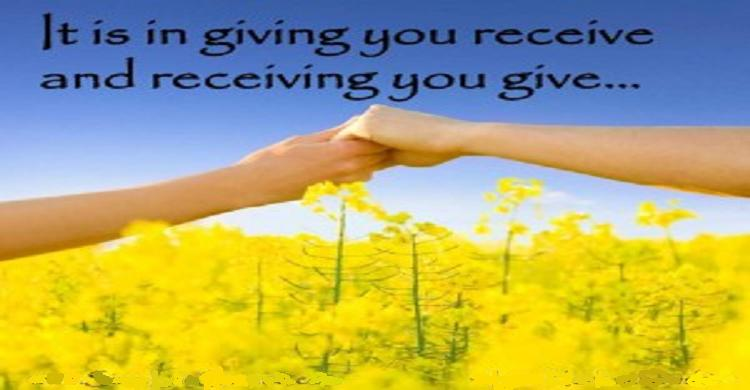 love and fear of giving