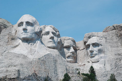 Mount Rushmore USA Side