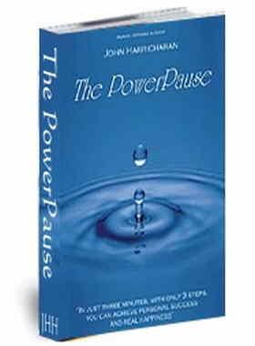 John Harricharan The Power Pause 3 Steps 3 Minutes